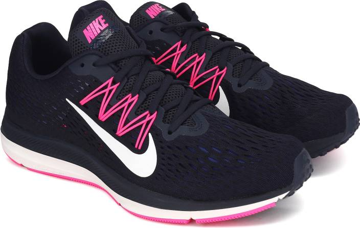 ef5840d0d6ad5a Nike WMNS NIKE ZOOM WINFLO 5 Running Shoes For Women - Buy OBSIDIAN ...