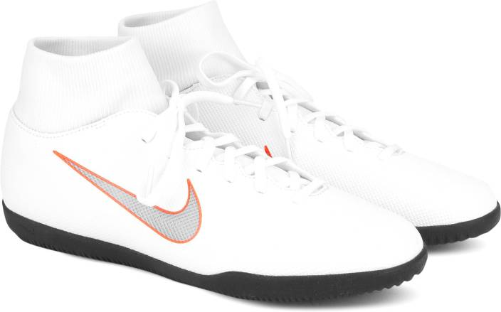 Nike SUPERFLY 6 CLUB IC Football Shoes For Women - Buy WHITE MTLC ... e634f2c622