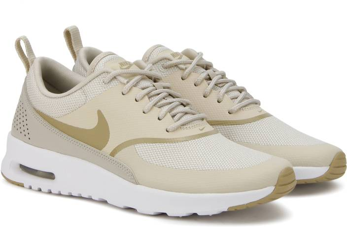 save off a1529 a5ca6 Nike WMNS NIKE AIR MAX THEA Running Shoes For Women (Beige, Grey)