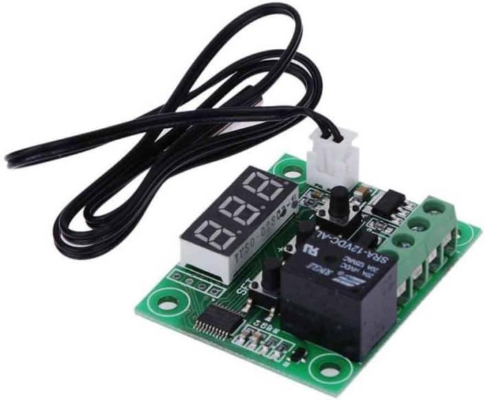 arduino Adraxx Micro Digital Thermostat DC 12V Blue -50