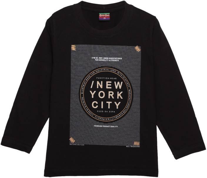 690bbbc0 NEUVIN Boys Printed Cotton T Shirt Price in India - Buy NEUVIN Boys ...