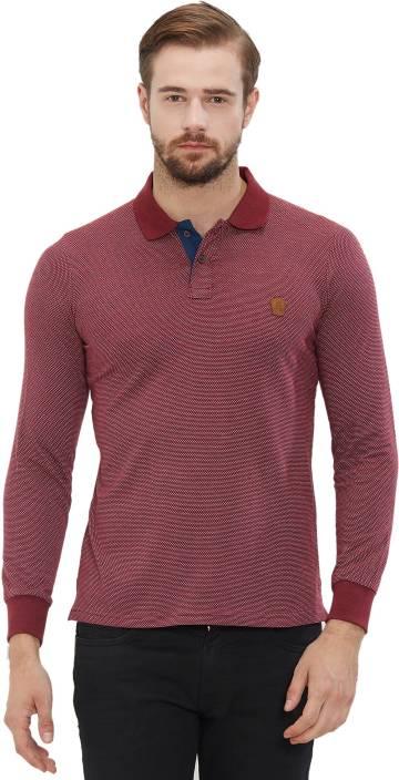 403b2e8f552c Nexgen Club Self Design Men s Polo Neck Red T-Shirt - Buy Nexgen Club Self  Design Men s Polo Neck Red T-Shirt Online at Best Prices in India