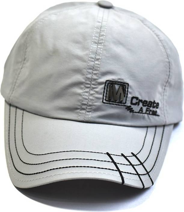 """535f0dcda7f Radhe Adjustable Cap with an Embroidered Quote """"Create A Free"""" Unisex Cap  Cap"""