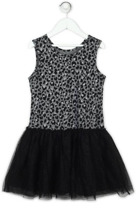 The Children's Place Girls Midi/Knee Length Casual Dress