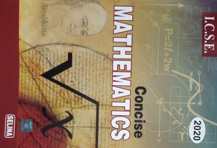 Concise Mathematics Class 10 Icse Guide Pdf