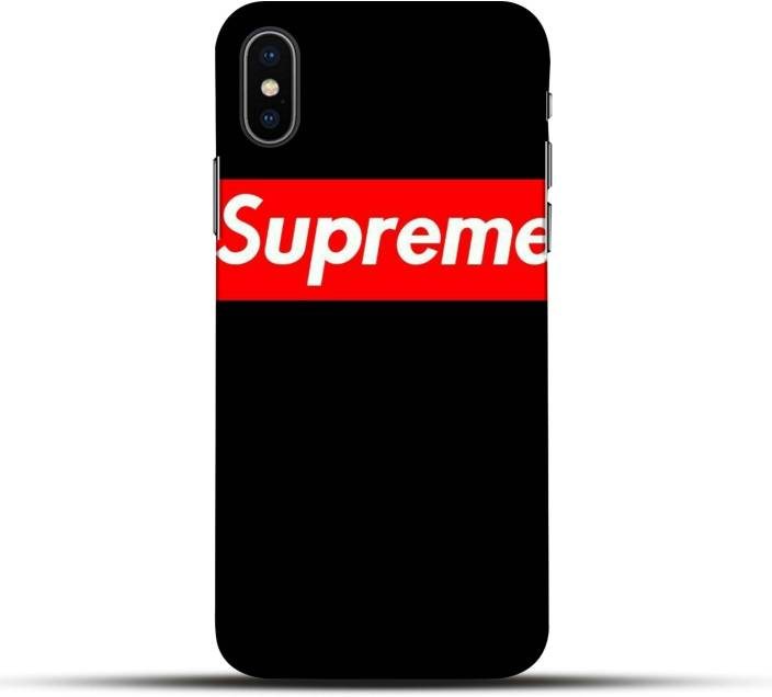 sports shoes 7b35a 495a9 Pikkme Back Cover for Supreme Apple Iphone X - Pikkme : Flipkart.com