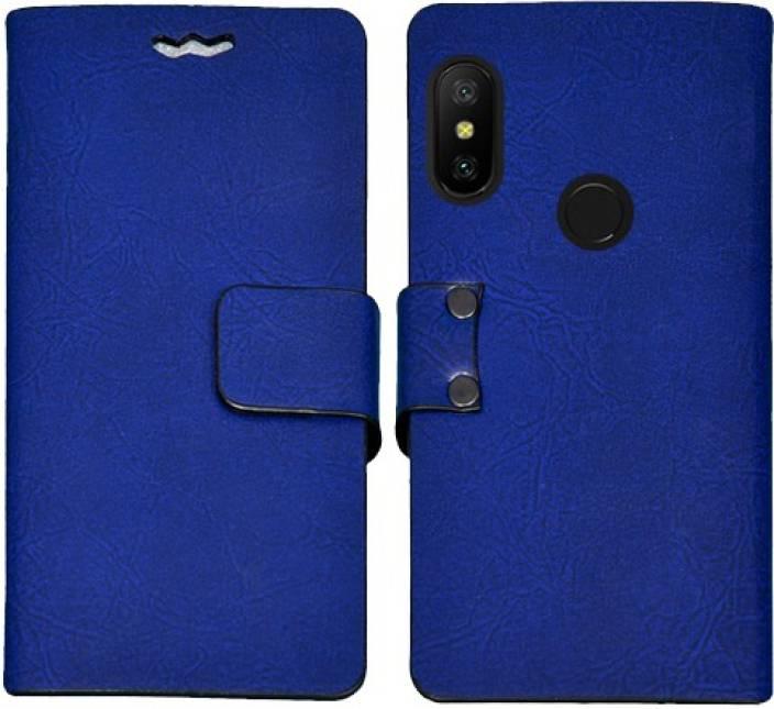 Mysha Flip Cover for Mi Redmi Note 6 Pro (Multicolor, Artificial Leather)