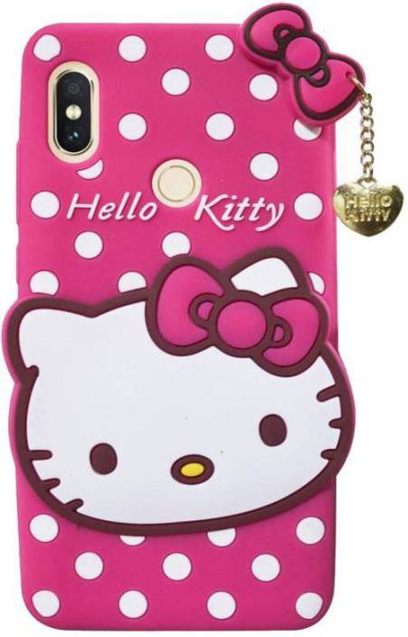 reputable site 20c70 371c1 STUDOZ Back Cover for Hello Kitty Xiaomi Redmi Y2 Pink