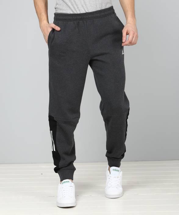 388692d737 ADIDAS Printed Men Grey Track Pants