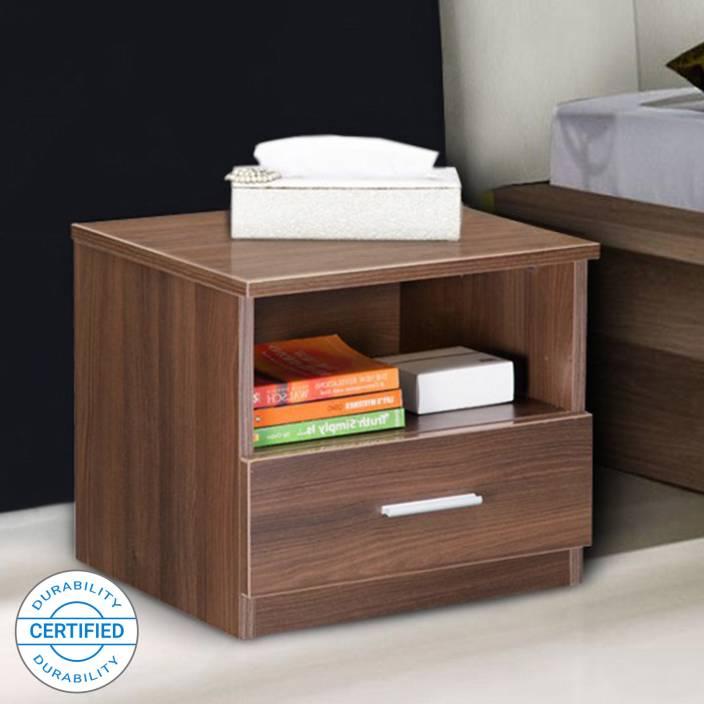 online retailer 1345f 9412f Delite Kom Bed Side Table Engineered Wood Bedside Table