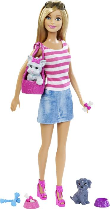 48289a21eab Barbie Dolls and Pets set - Dolls and Pets set . Buy Barbie toys in ...