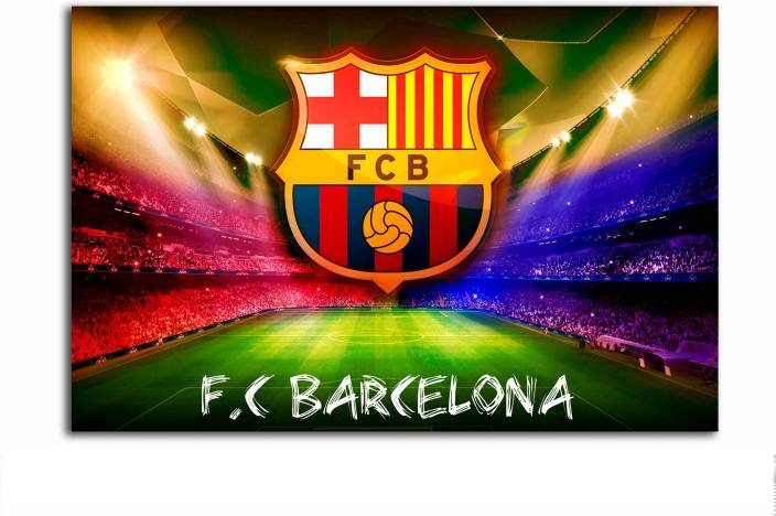 Gaming Poster Fc Barcelona Logo Large Size Poster Hd