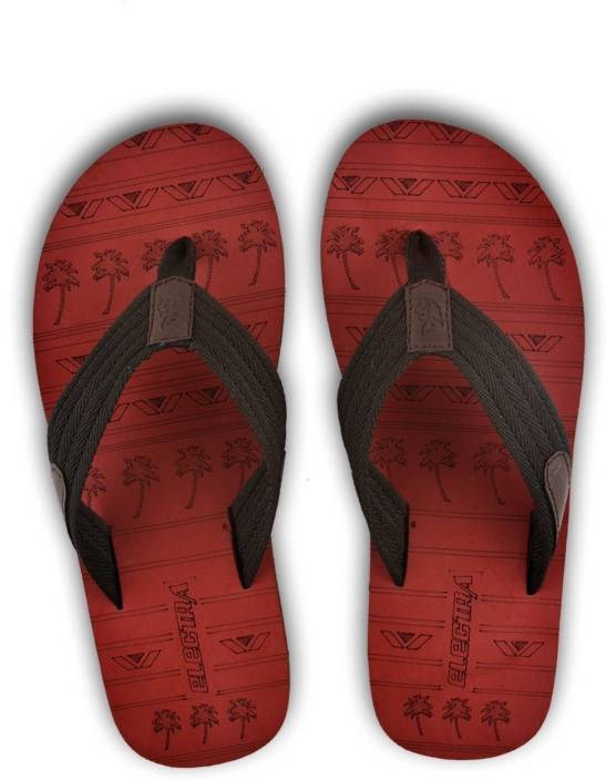 4ddc88533 Electra Men s Maroon Black Color Flip-Flops and House Slippers - Buy  Multicolor Color Electra Men s Maroon Black Color Flip-Flops and House  Slippers Online ...