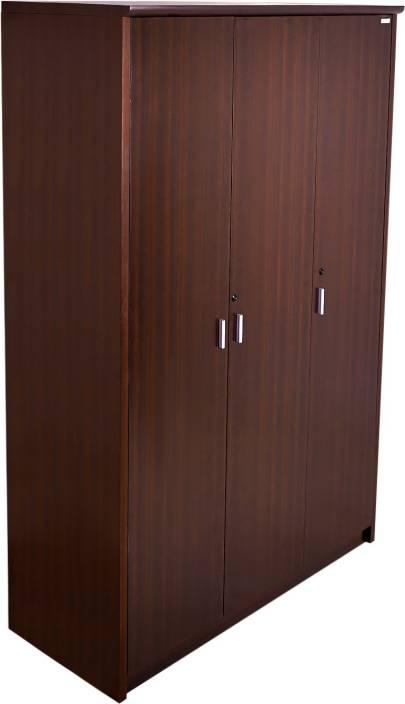 Godrej Interio Super Magna 3 Dr Wardrobe Engineered Wood 3 Door Wardrobe