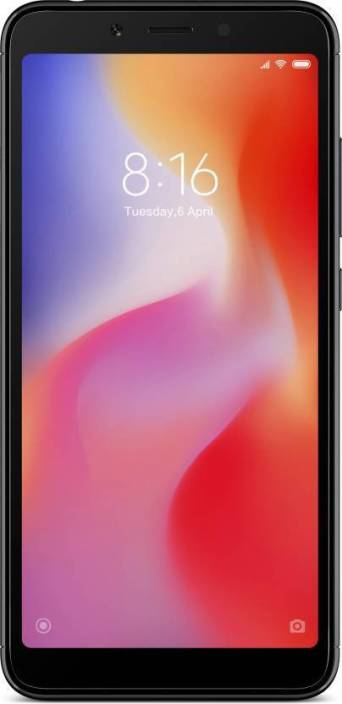 Redmi 6 (Black, 64 GB)