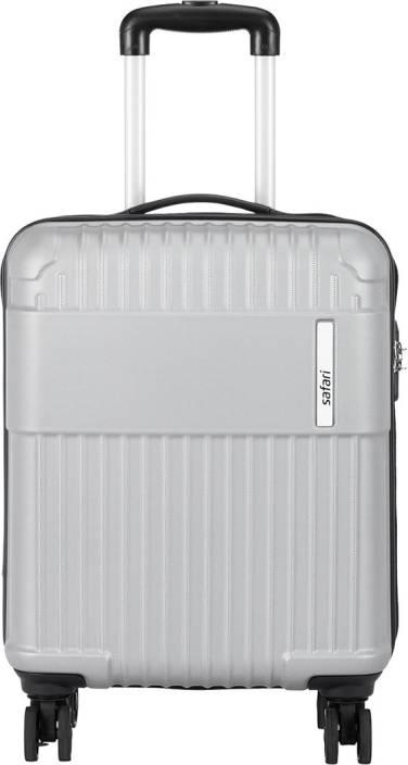 Safari STELE 55 SILVER Cabin Luggage - 21 inch