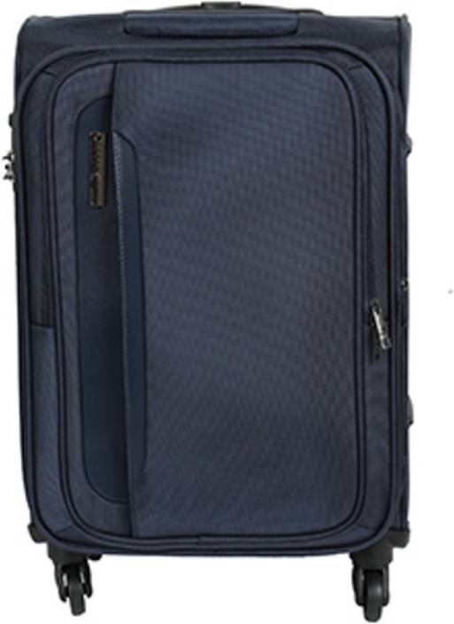 dc43e17d93 Safari Parker 65 cm Soft Trolley (Blue) Expandable Check-in Luggage - 26  inch (Blue)