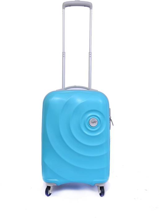 2ee84fbb719f Skybags Mint 55 cm Hard Trolley (Turquoise) Cabin Luggage - 22 inch (Blue)