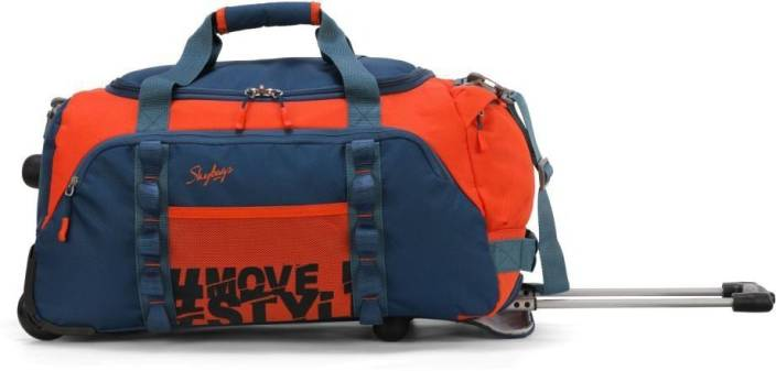 5eb0b7e37916 Skybags HUSTLE DFT 55 ORANGE Cabin Luggage - 20 inch ORANGE - Price ...
