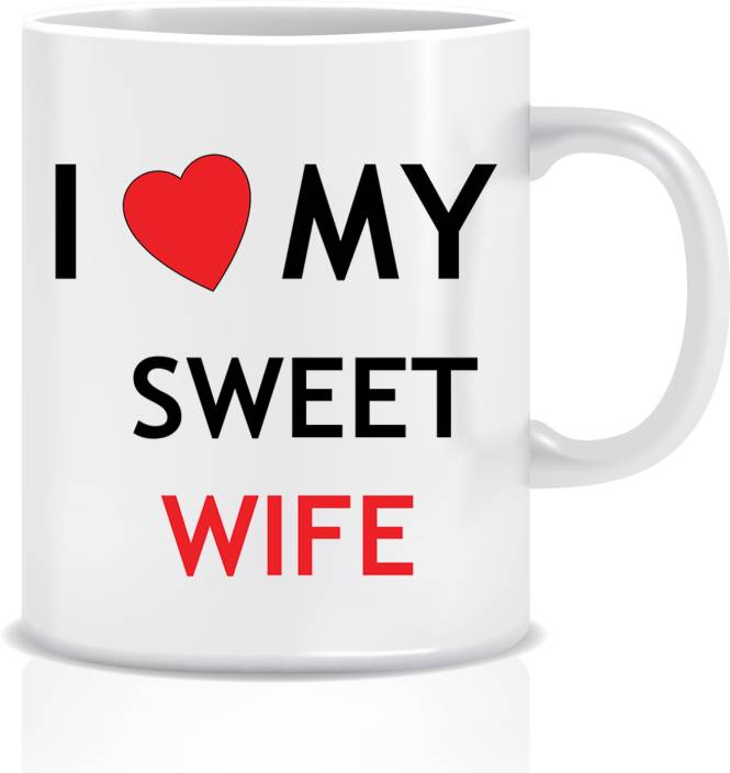 Everyday Desire I Love My Sweet Wife Valentine Anniversary Karwachauth Gifts For
