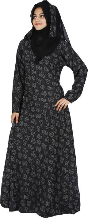 7c5dc02fece DC New Stylish Dubai 2018 Nida Abaya Burkha With Hijab Scarf and Mouthpeice    Waist Belt