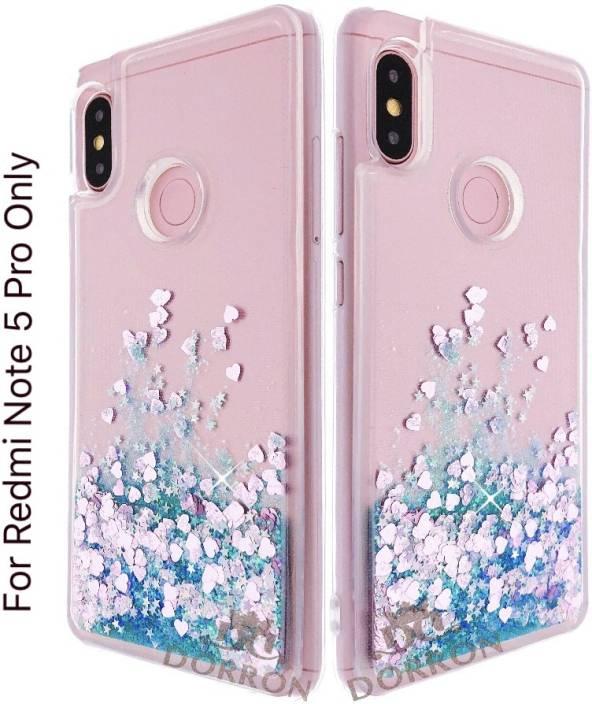 8a0a4085fb DORRON Back Cover for Mi Redmi Note 5 Pro Glitter Bling Stylish Soft ...