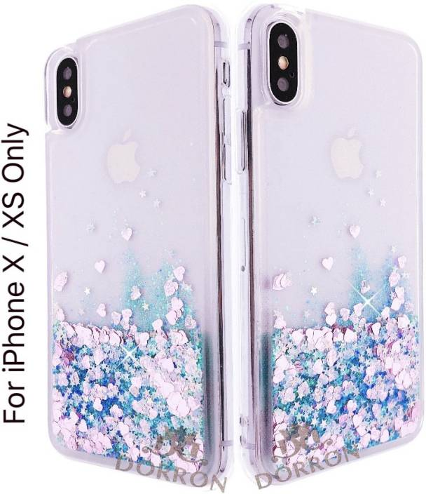 half off f48ed 5251e DORRON Back Cover for Apple iPhone X / 10 / XS Glitter Bling Stylish ...