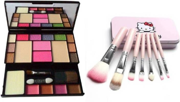 0d74433e8 Aaxyone Makeup Kit and Hello Kitty 7 Piece Brush Set Price in India ...