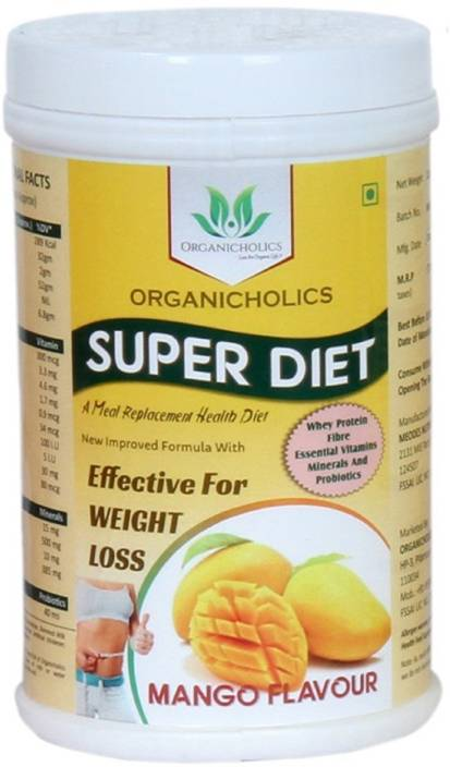 Organicholics Super Diet Meal Replacement Shake For Weight Loss
