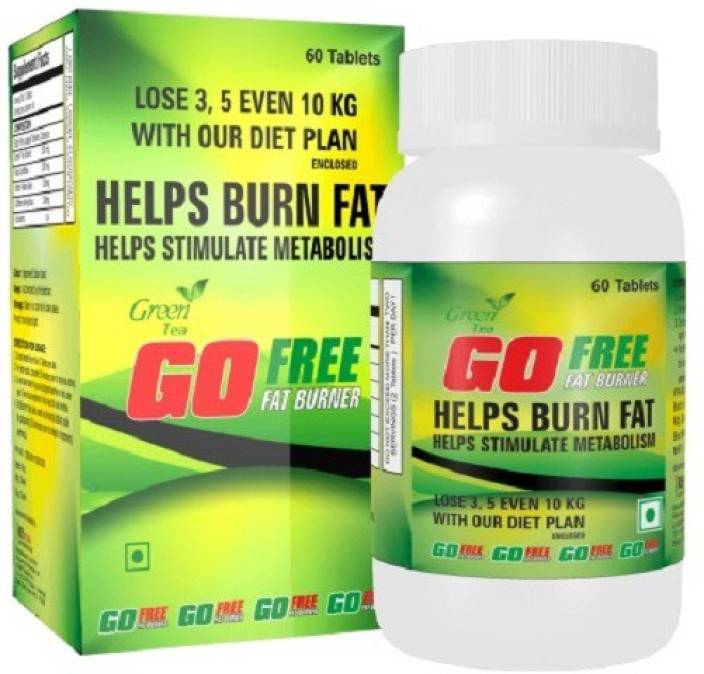 e3ffdbfd9 GoFree Green Tea Fat Burner 60 Capsules Weight Management Supplement (60 No)