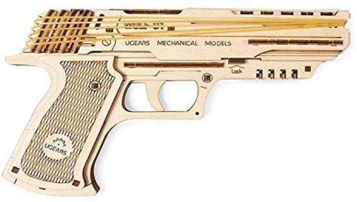 Genrc S T E A M  Line Toys Ugears Models 3-D Wooden Puzzle