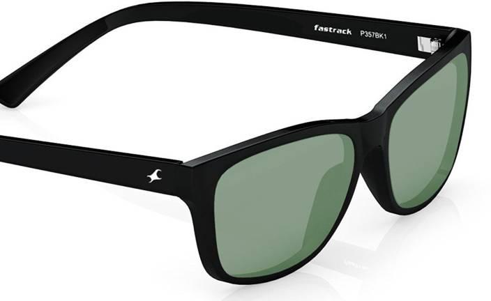 edf1adc3a38c Buy Fastrack Wayfarer Sunglasses Green For Men   Women Online   Best ...
