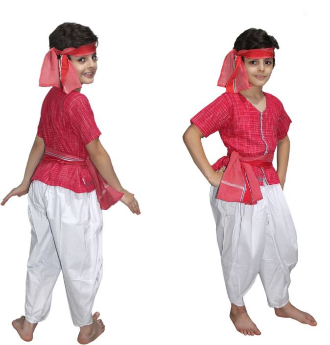 Kaku Fancy Dresses Farmer Kids Costume Wear Price In India Buy