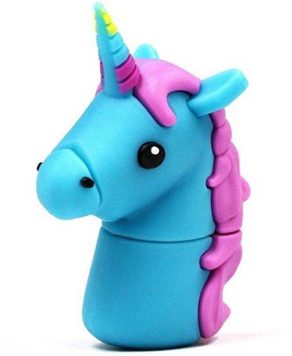 Tobo Unicorn Shape USB Flash Drive Cute Memory Stick USB 2.0 U Disk(16 GB) 16 GB Pen Drive