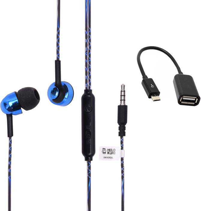 b45bfd30043 Helokuki Headphone Accessory Combo for Oppo Realme C1 Price in India ...