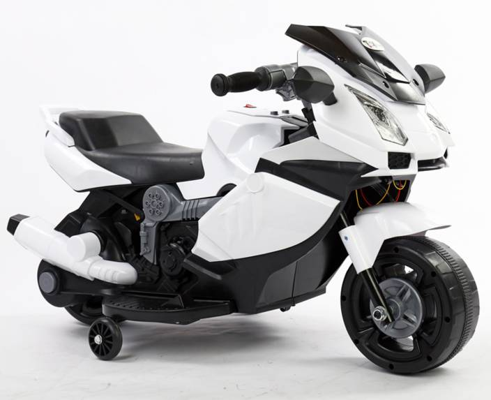 ba68f8a185b Toy House Mini Lamborghini Super Rechargeable for kids (2 to 4yrs) Bike  Battery Operated Ride On (White)