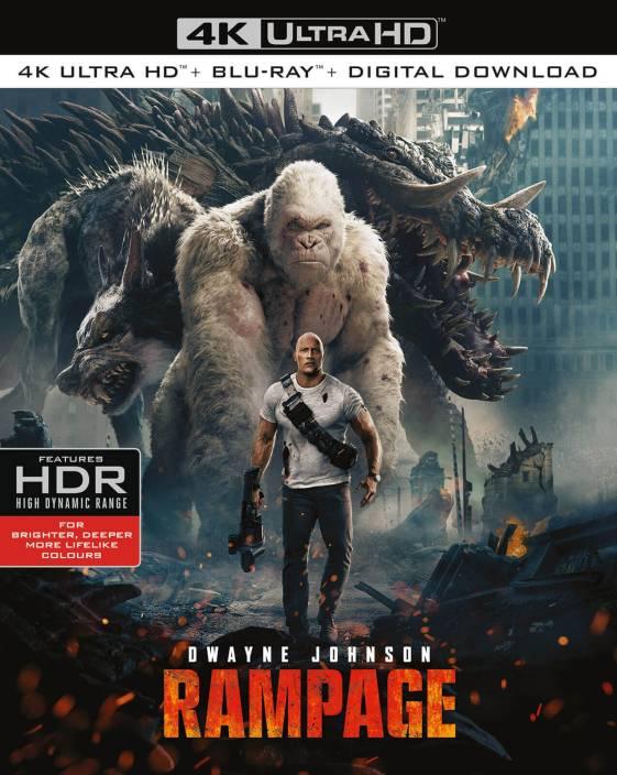 Rampage (4K UHD + Blu-ray + Digital Download) (2-Disc Set