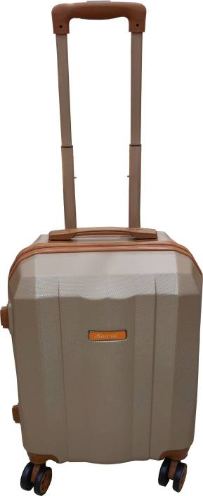da9354dae Saccus ABS 20inch Rose Gold Hard Cabin Trolley Bag (4 Wheel) Cabin Luggage -