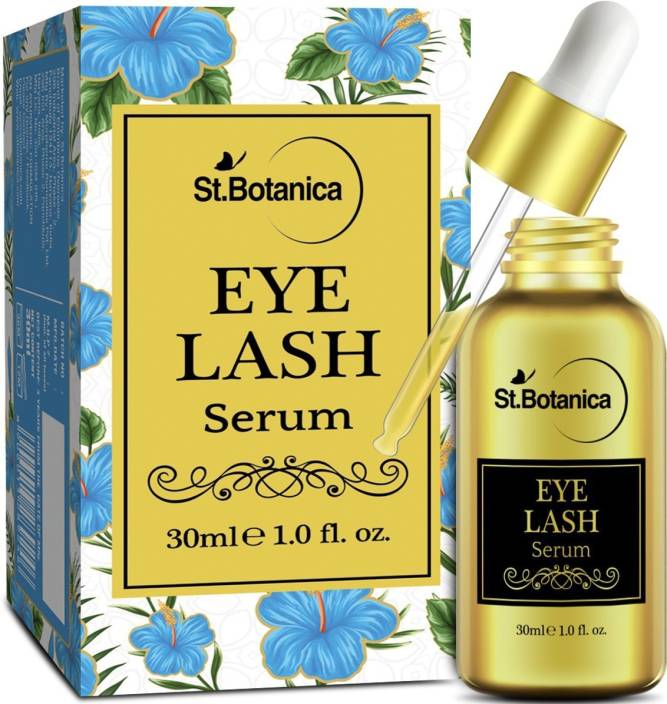 StBotanica Eyelash Growth Serum (With Castor Oil, 100% Pure and Natural  Oils)