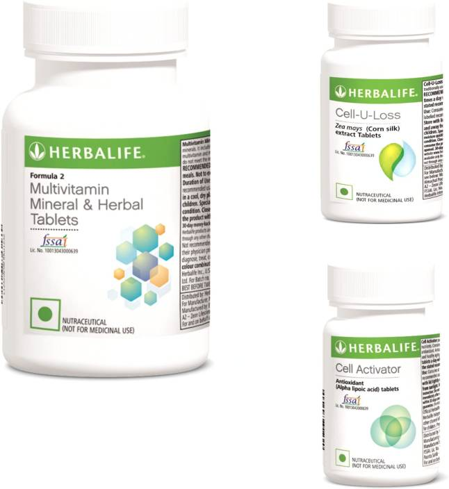 Herbalife Multivitamin Mineral And Herbal Tablets Cell U Loss