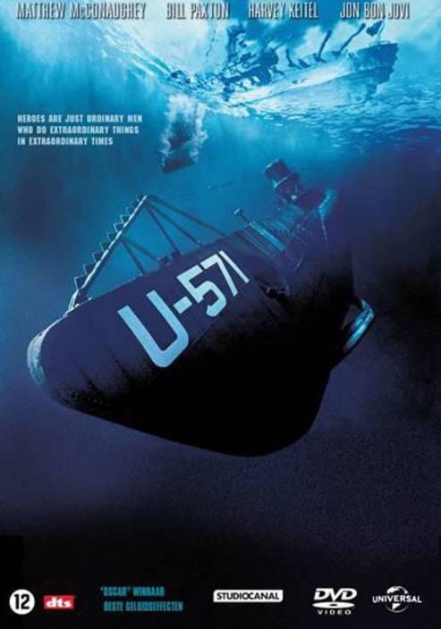 u-571 dvd , region free Price in India - Buy u-571 dvd