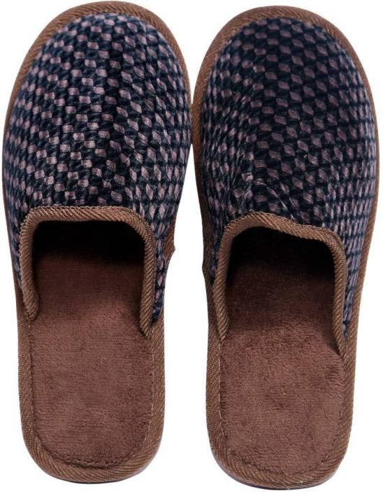79b37f887b4e Smart Bazaar Men Women s Soft Comfortable Cotton Non-slip Soles Strip Winter  Outdoor Indoor
