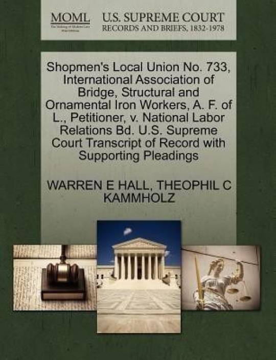 Shopmen's Local Union No  733, International Association of