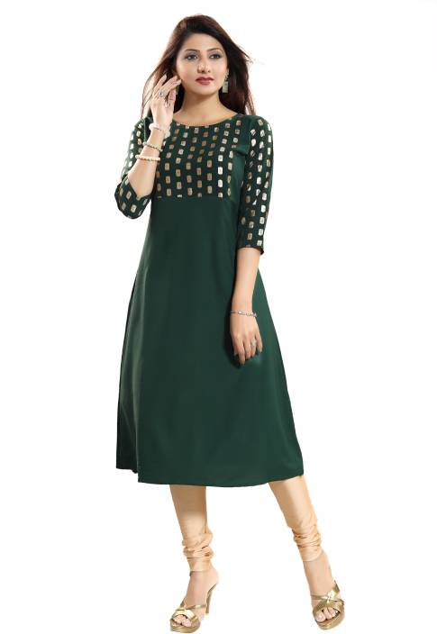 ALC Creations Women Printed A-line Kurta