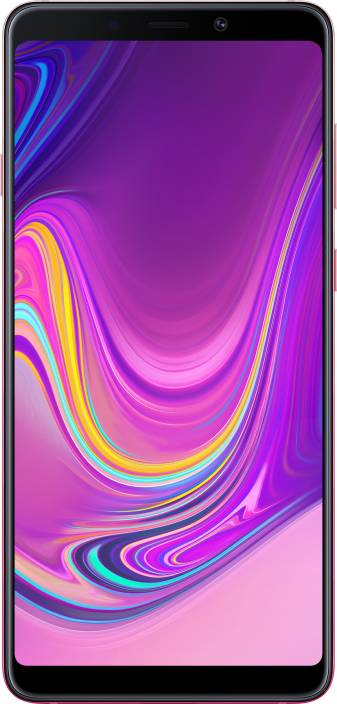 Samsung Galaxy A9 (Bubblegum Pink, 128 GB)