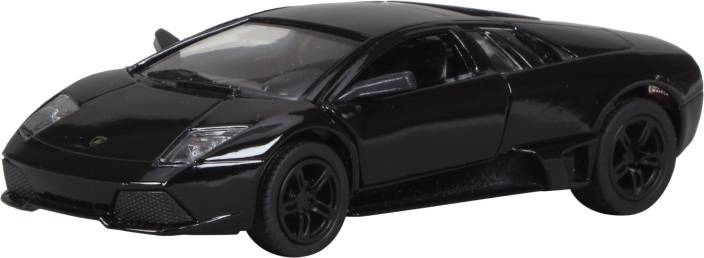Miss Chief Lamborghini Murcielago Diecast Pull Back Car Black