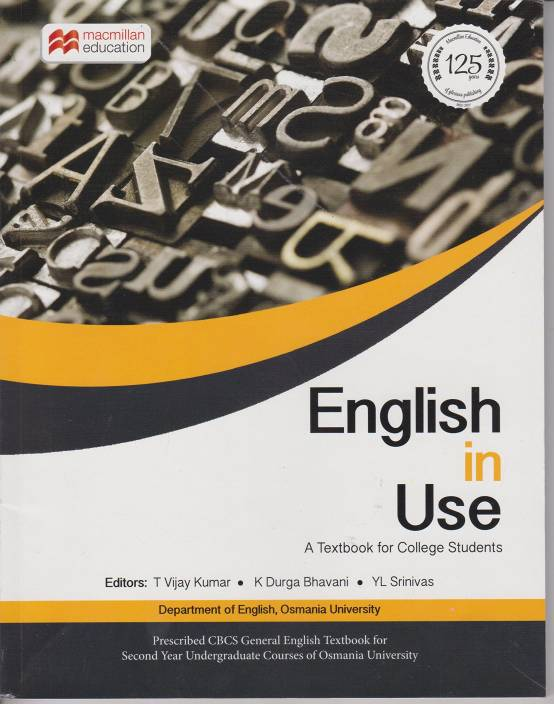ENGLISH IN USE A TEXTBOOK FOR COLLEGE STUDENTS (RO): Buy