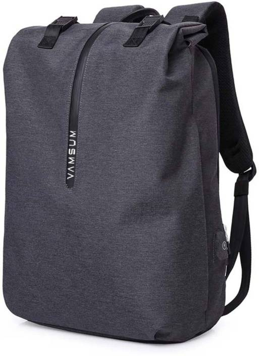 3b501dd9bf2 Vamsum Urban Lifestyle Waterproof Anti Theft Lock USB Port Charging 20 L  Laptop Backpack (Black)