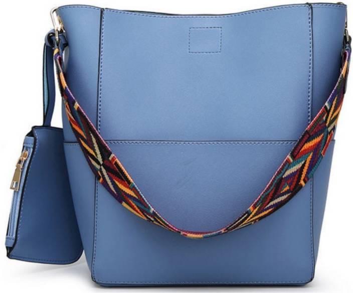 00859063c0c1 Buy LACIRA Shoulder Bag Blue Online   Best Price in India