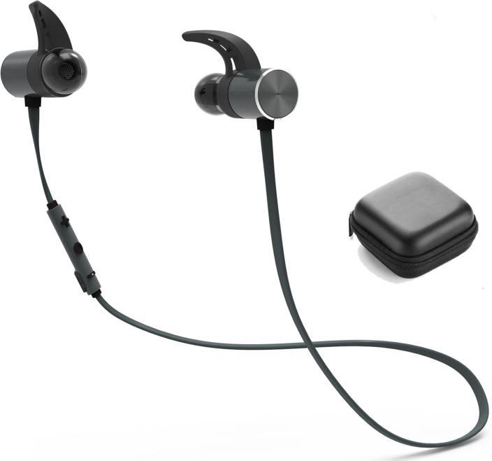 98284b20d23 Idad Bx343 Wireless Bluetooth Waterproof Headphones Black. Sound One  Launches Waterproof Sp 40 Sports Bluetooth Earphones With Mic In India  Dqweek